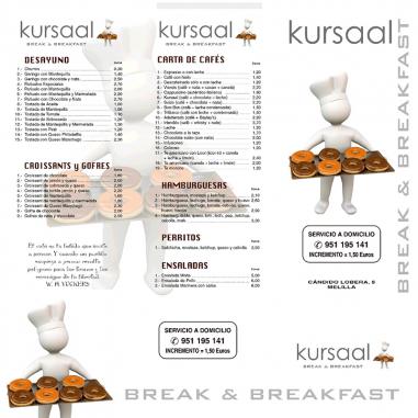 Cartas de desayunos