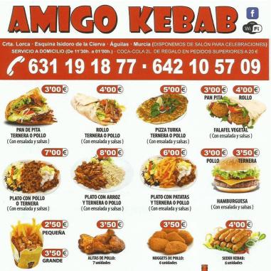 Cartas de kebab