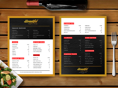 cartas de restaurantes creativas salou